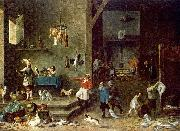 TENIERS, David the Younger The Kitchen t oil painting picture wholesale